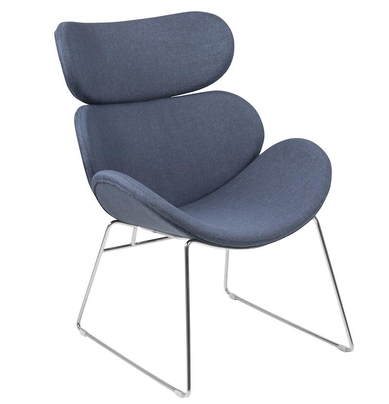 N/A – Hunt hvilestol - blå på unoliving.com