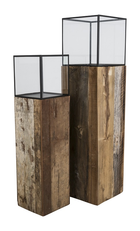 Canett – Canett timber  gulvlampe - sort på unoliving.com