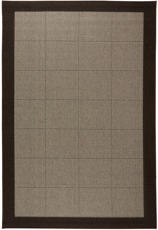 N/A – New casablanca fladvævet tæppe - brun på unoliving.com