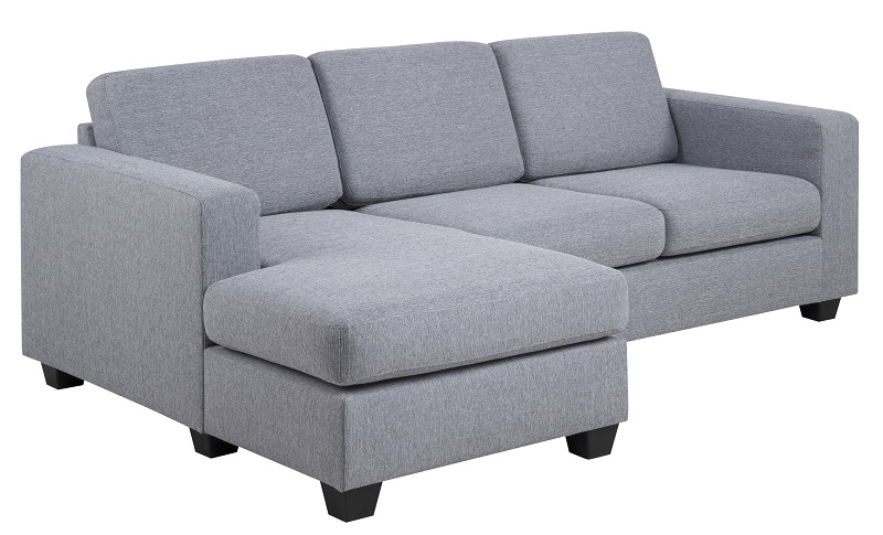 Soya sofa - lysegrå - chaise venstre fra N/A på unoliving.com