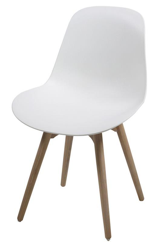 Jamara spisebordsstol - hvid fra N/A på unoliving.com