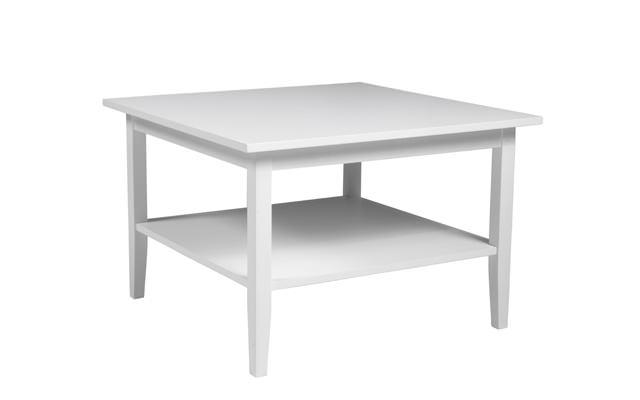 Ria sofabord - hvidmalet - 80x80 fra N/A på unoliving.com