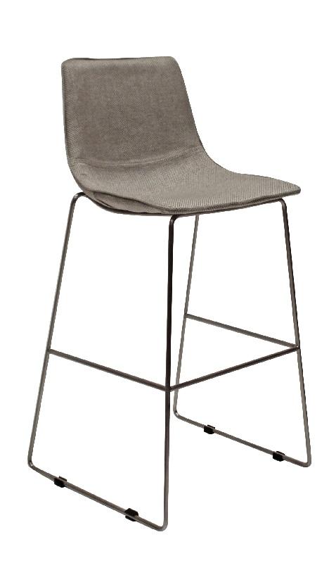 Canett – Canett eccho  barstol - lys grå fra unoliving.com