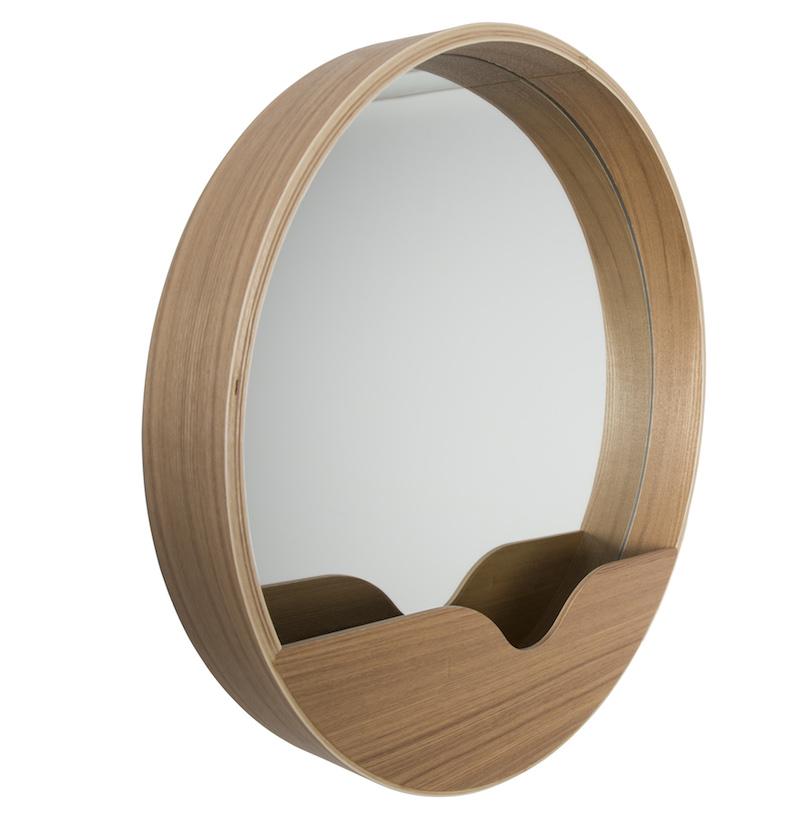 Zuiver - wall 60 spejl - lystræ fra Zuiver fra unoliving.com