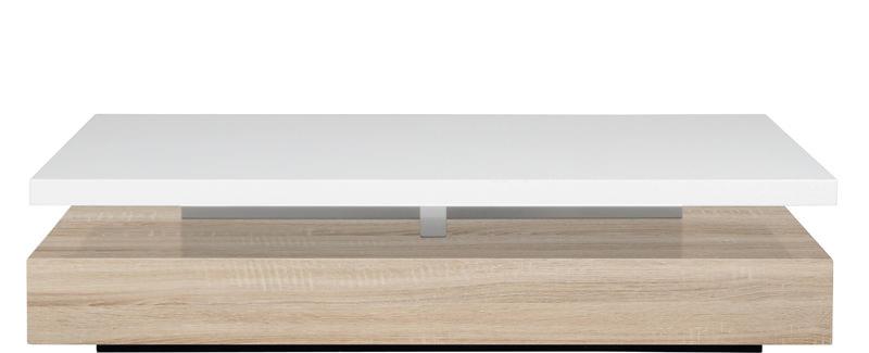 N/A – Mora sofabord - hvid højglans på unoliving.com