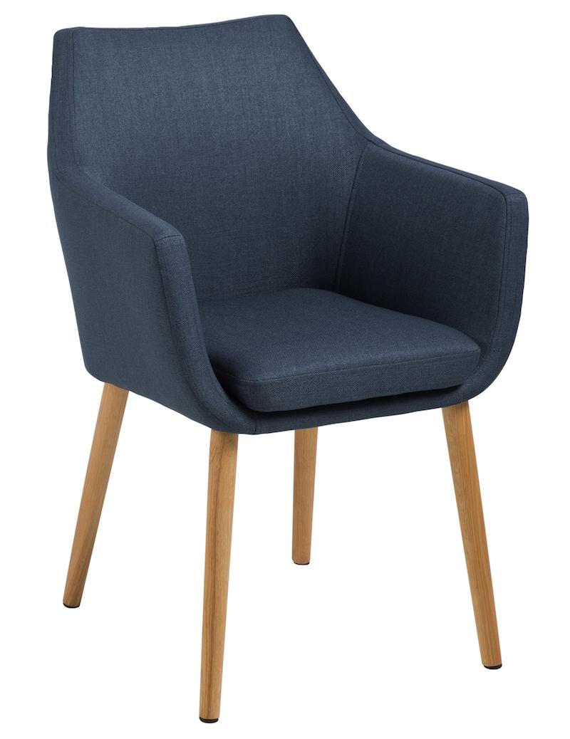 N/A Amada spisebordsstol - blå på unoliving.com