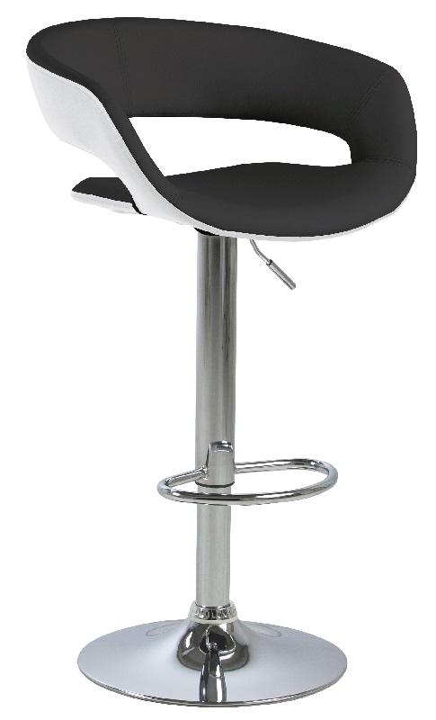 N/A Kline barstol - sort - krom base på unoliving.com