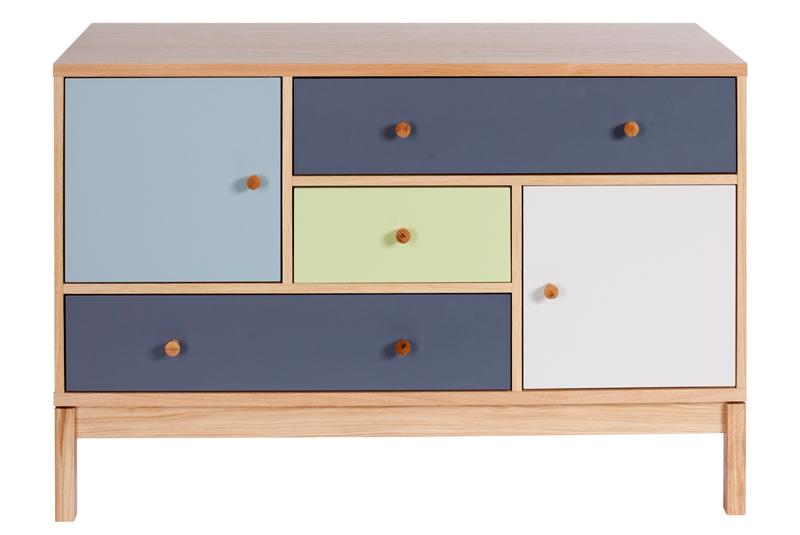 Woodman - abbeywood skænk - multifarvet fra Woodman fra unoliving.com