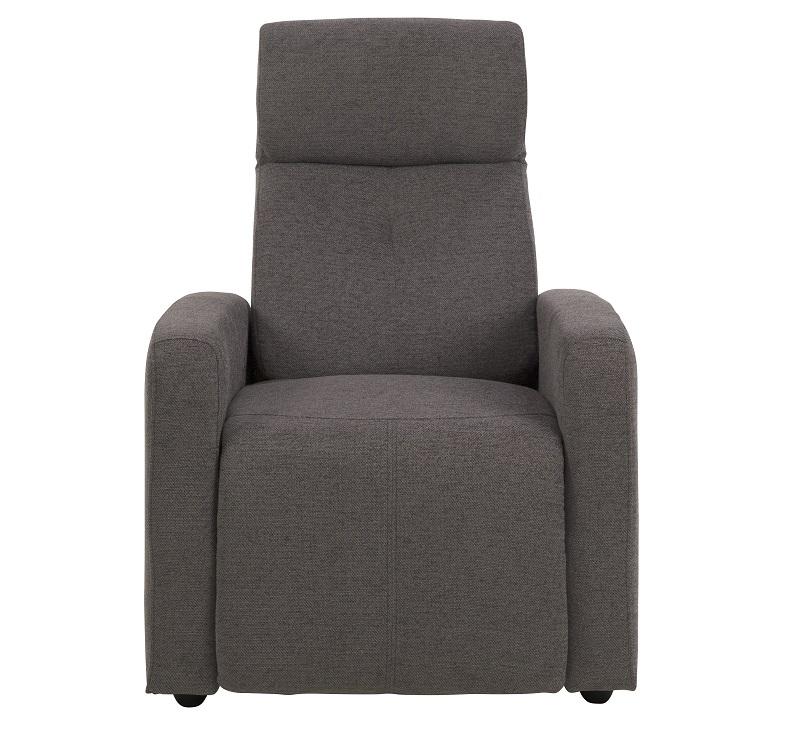N/A Adele recliner m/justerbar nakkestøtte - grå fra unoliving.com