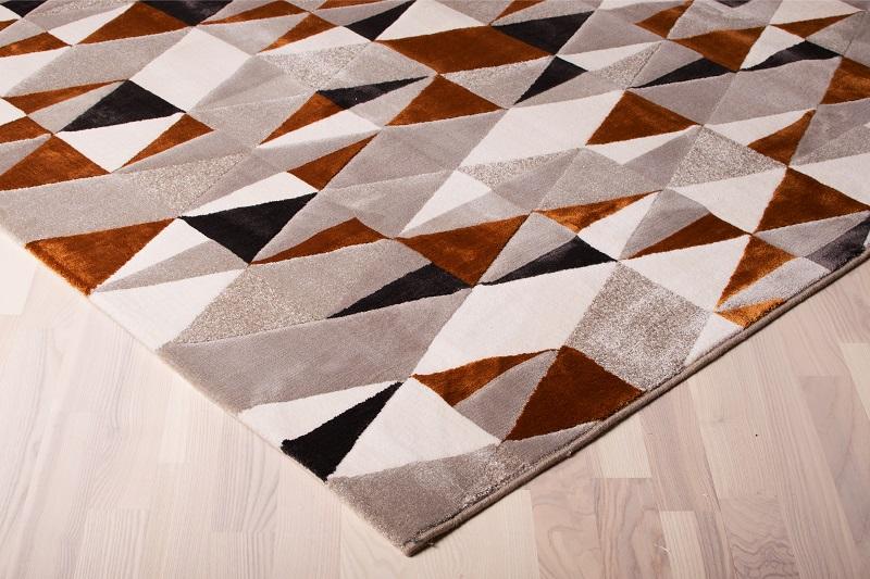 N/A – Andorra luvtæppe m. geometrisk mønster - 240x330 på unoliving.com