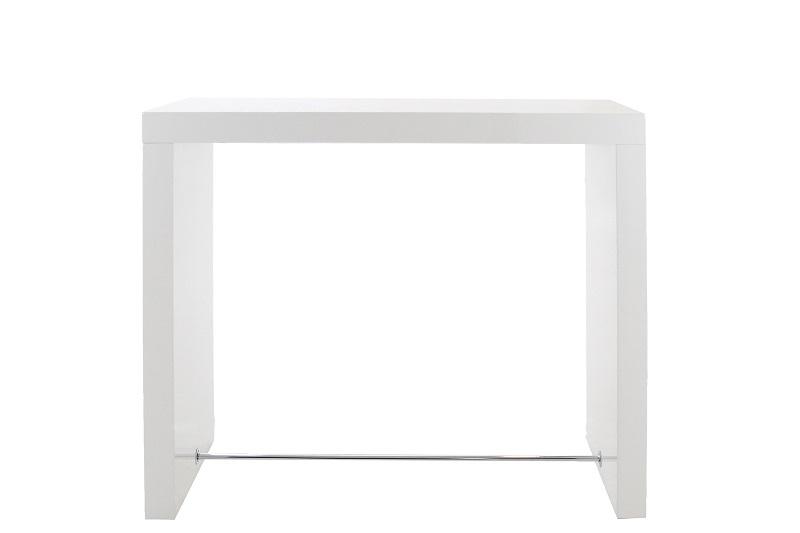 N/A Arch barbord h105 cm - hvid højglans på unoliving.com