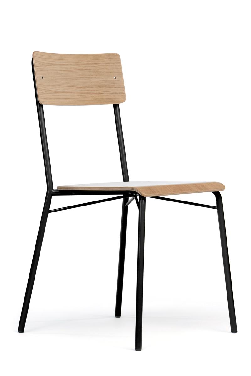 Woodman Woodman - ashburn spisebordsstol - lys træ på unoliving.com