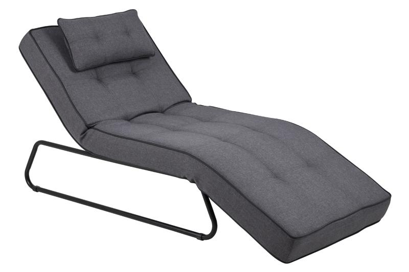 N/A – Basel chaiselong - grå fra unoliving.com