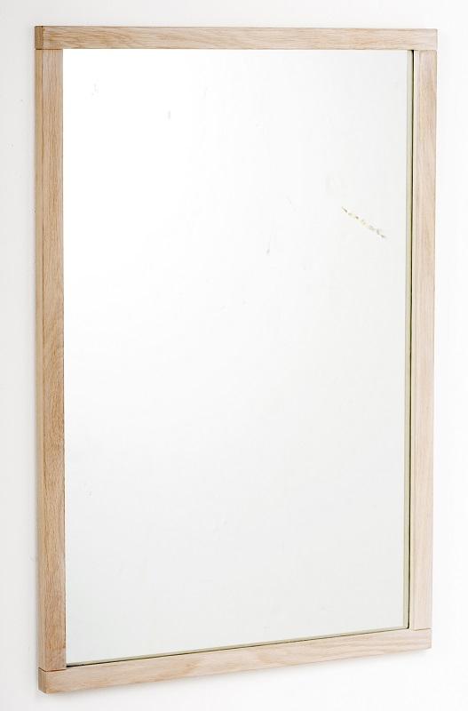 N/A – Belina spejl - lys eg 90x60 på unoliving.com