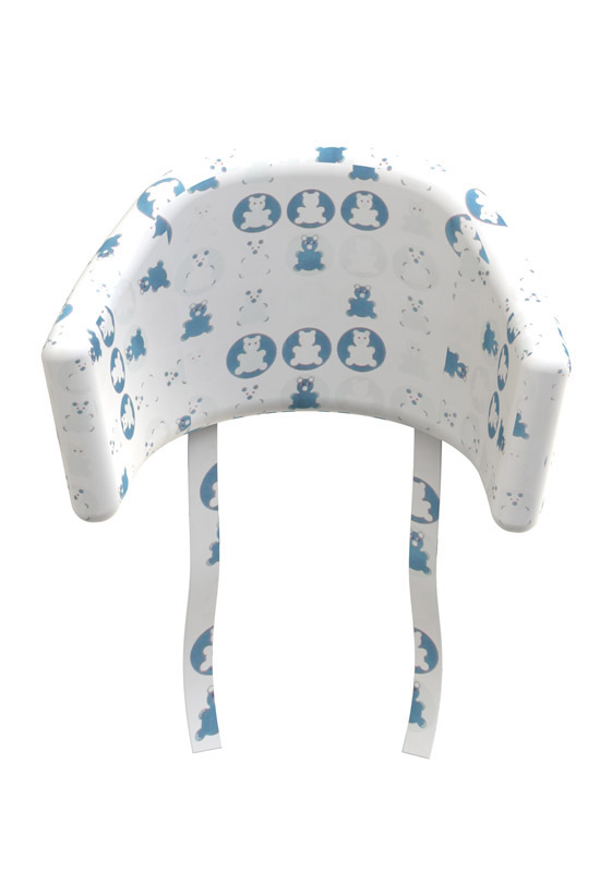 Flexa - baby pude til højstol - blå fra Flexa på unoliving.com