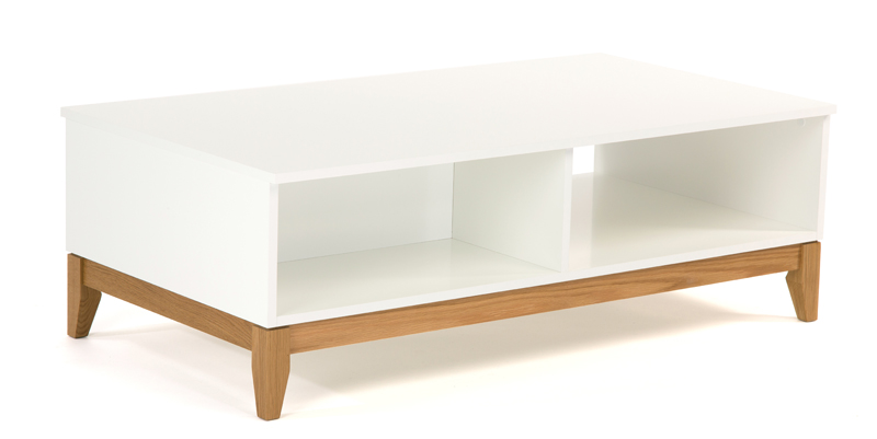 Woodman – Woodman - blanco sofabord - hvid på unoliving.com