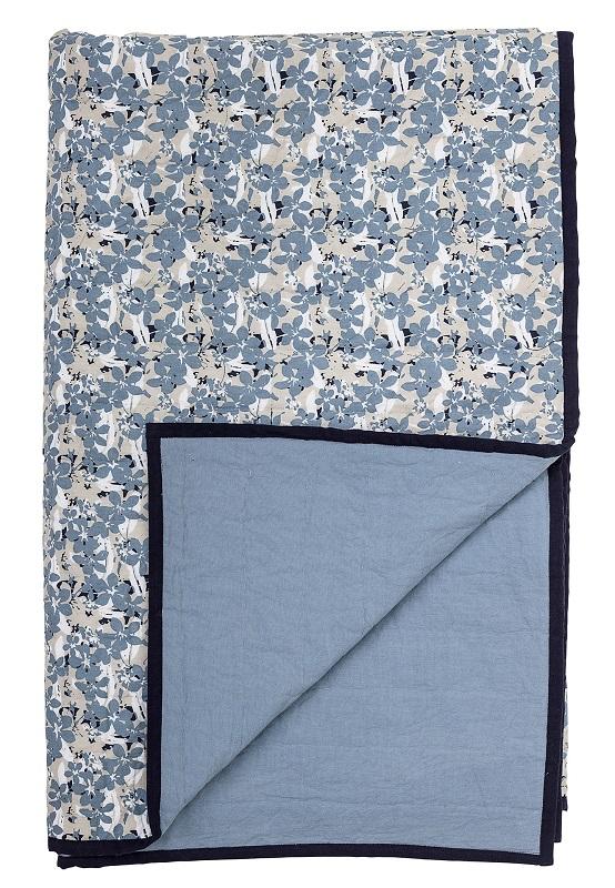 Bloomingville  plaid - blå fra Bloomingville fra unoliving.com
