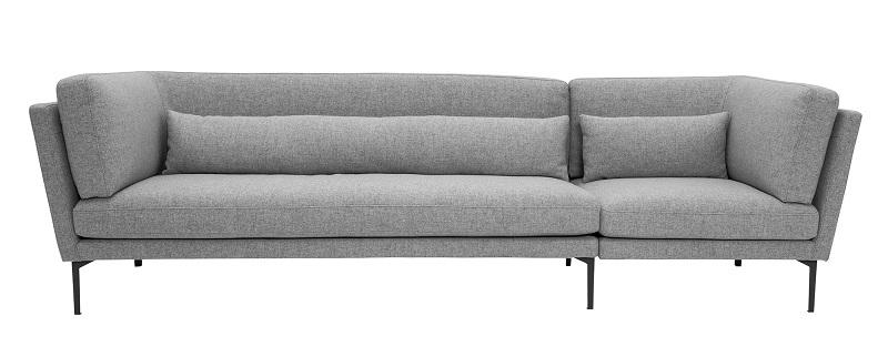 Bloomingville Bloomingville rox 3-pers. sofa - grå fra unoliving.com