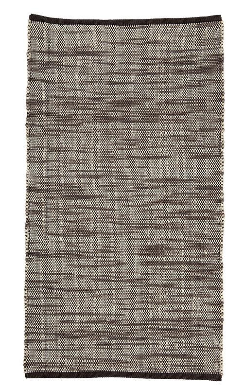 Bloomingville – Bloomingville  tæppe - brun meleret på unoliving.com