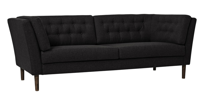 Bloomingville pause 3-pers. sofa - antracit fra Bloomingville på unoliving.com
