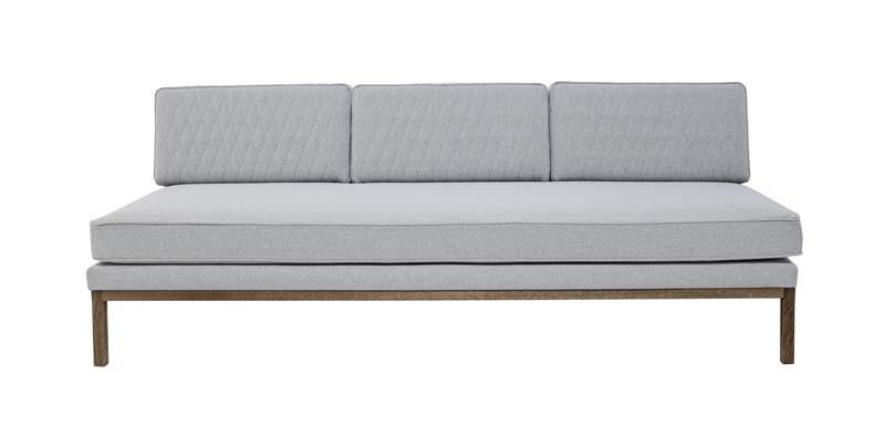 Bloomingville settle 3-pers. sofa - grå fra Bloomingville fra unoliving.com
