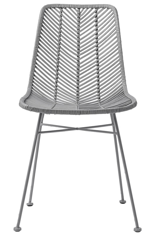 Bloomingville lena spisebordsstol - grå fra Bloomingville på unoliving.com
