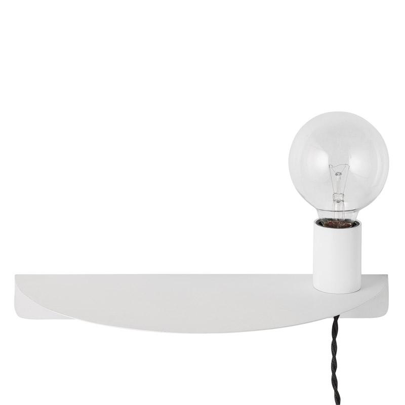 Bloomingville – Bloomingville  væglampe - hvid på unoliving.com