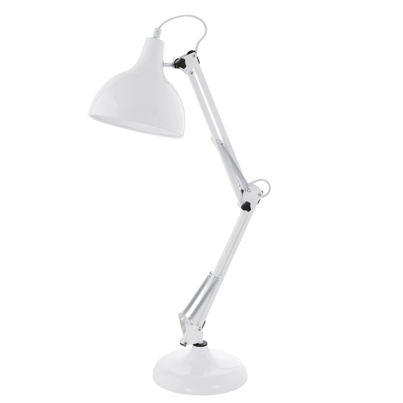 N/A Borgillio - bordlampe - hvid på unoliving.com