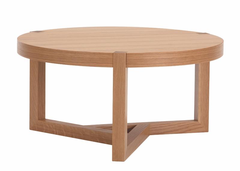 Woodman Woodman - brentwood sofabord - lys træ på unoliving.com