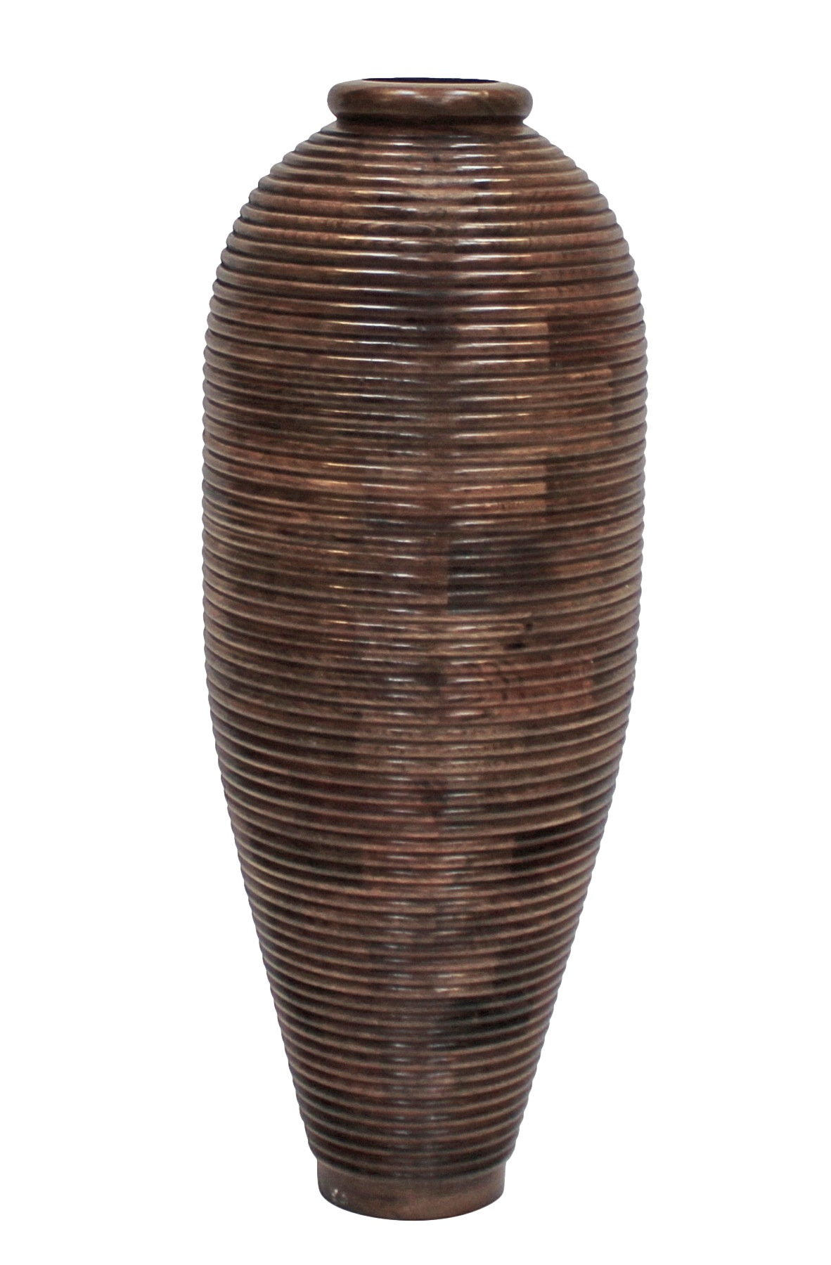 Canett wood vase - massiv mangotræ - h:70 fra Canett på unoliving.com