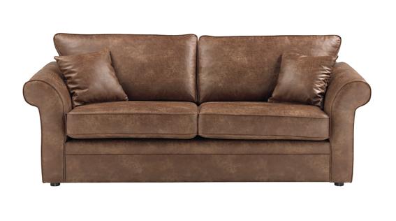 N/A Formby 3-pers. sofa - brun stof på unoliving.com