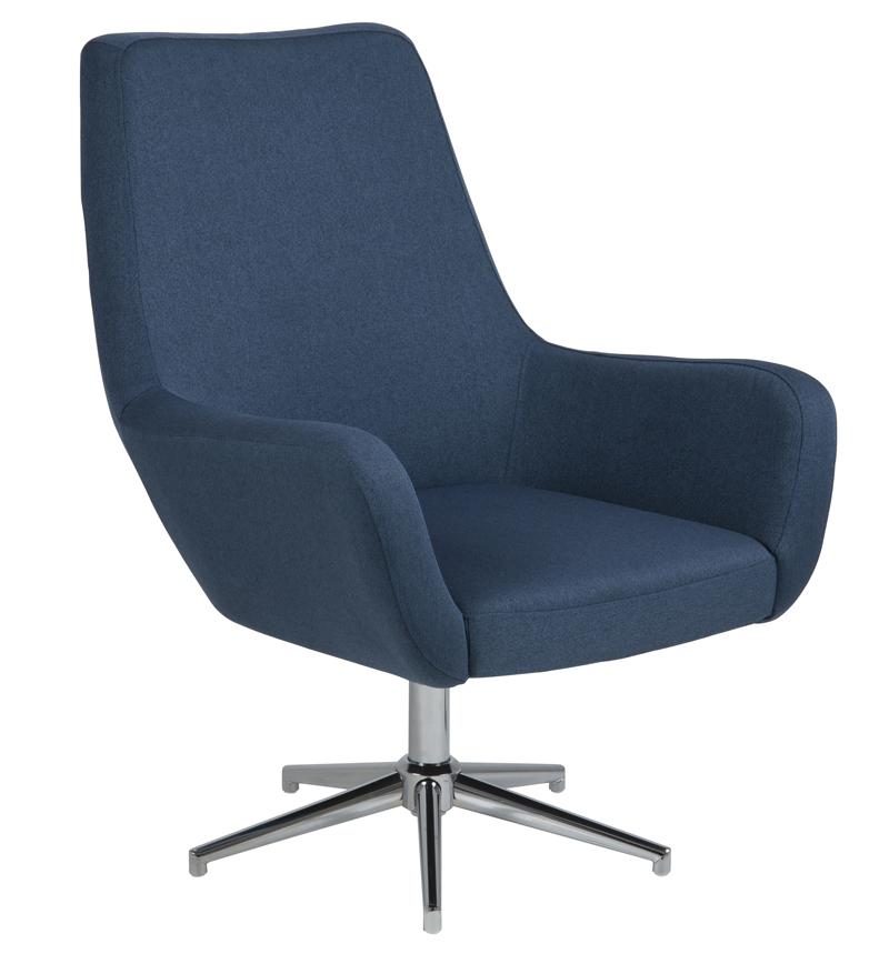 Clubber lænestol - blå fra N/A på unoliving.com