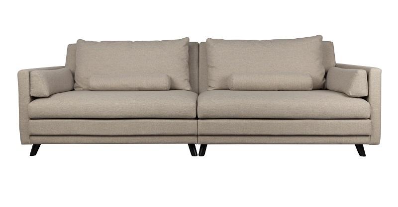 Dutchbone Dutchbone - linde 2-pers. sofa - sand på unoliving.com