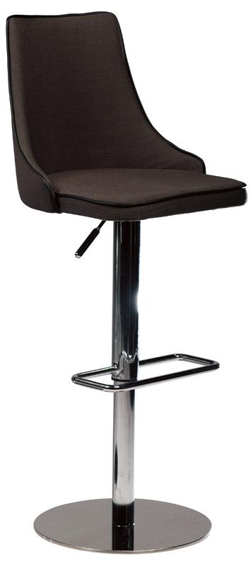 Dan-form Danform - mars barstol - brun stof fra unoliving.com