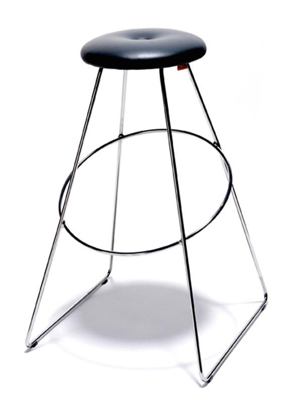 Design by us clown bar barstol - sort fra Design by us på unoliving.com