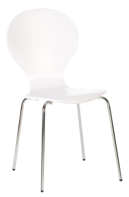Designa Skalstol - Hvid malet