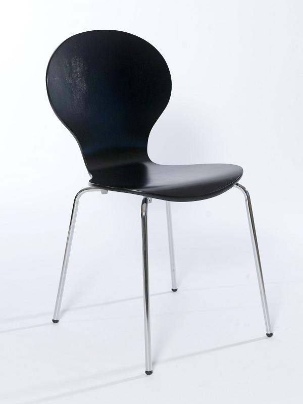 Designa Skalstol - Sort malet
