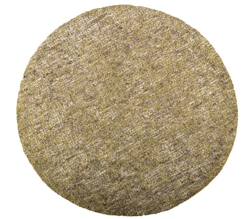 Dundee håndtuftet tæppe - grøn fra N/A fra unoliving.com