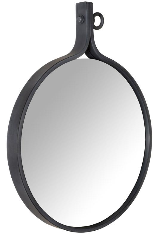 Dutchbone Dutchbone - attractif 16 spejl - sort på unoliving.com