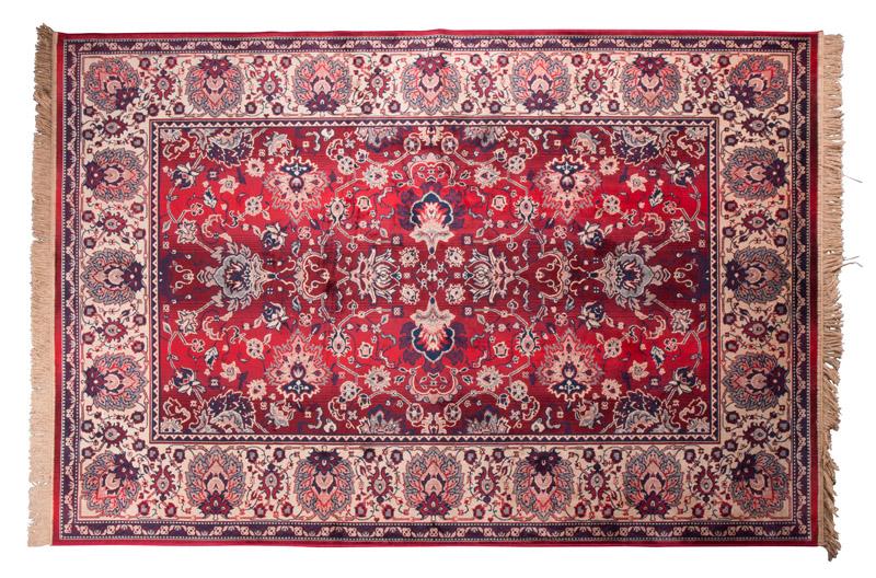 Dutchbone - bid tæppe 170 x 240 cm - rød fra Dutchbone fra unoliving.com