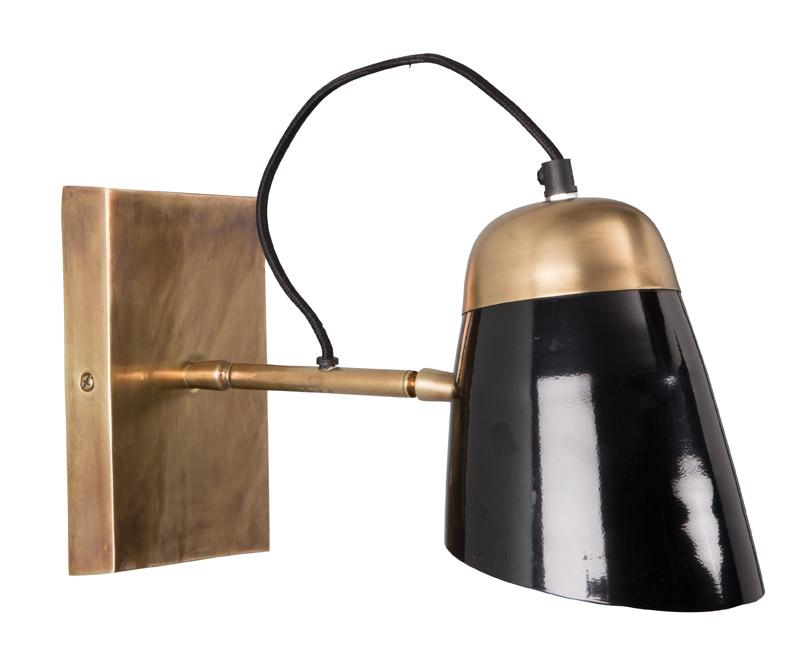 Dutchbone - old school væglampe - sort fra Dutchbone fra unoliving.com