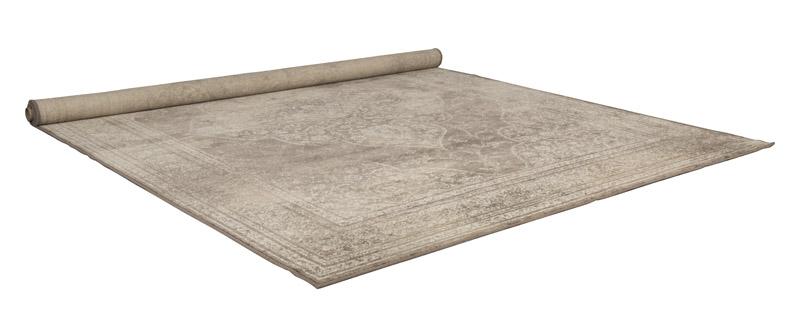 Dutchbone – Dutchbone - rugged orientalsk tæppe lys - 200x300 på unoliving.com