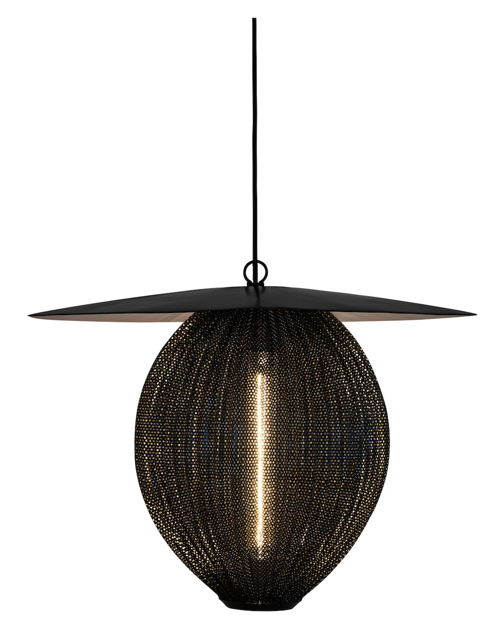 Gubi – Gubi - satellite pendant - ø: 27,2 midnight black på unoliving.com