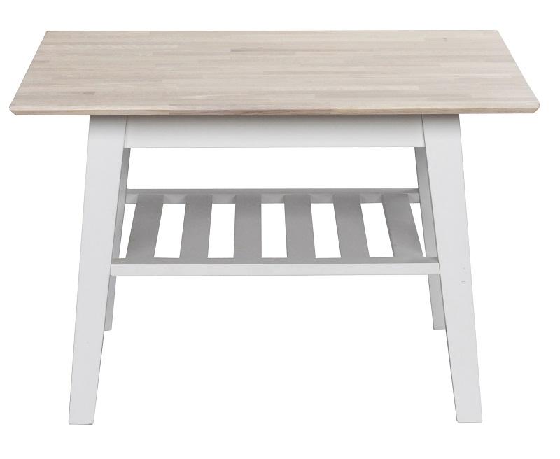 N/A Gabriella sofabord - hvid - 80x80 cm på unoliving.com