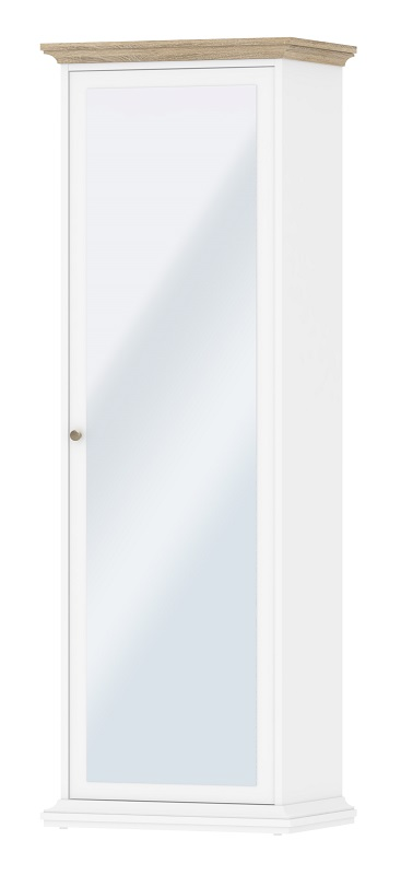 Paris garderobeskab - hvid fra N/A på unoliving.com