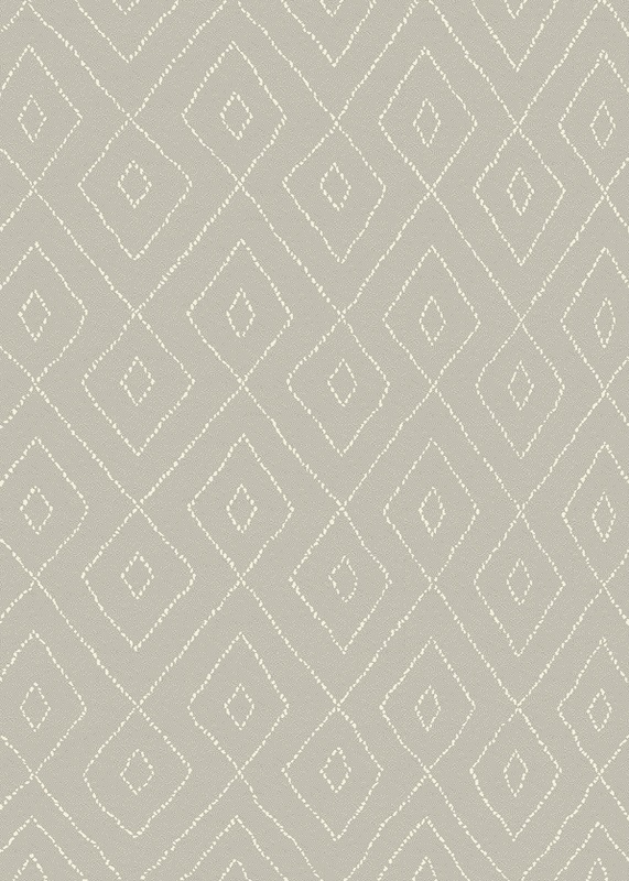 Gent luvtæppe - grå m. mønster - 160x230 fra N/A på unoliving.com