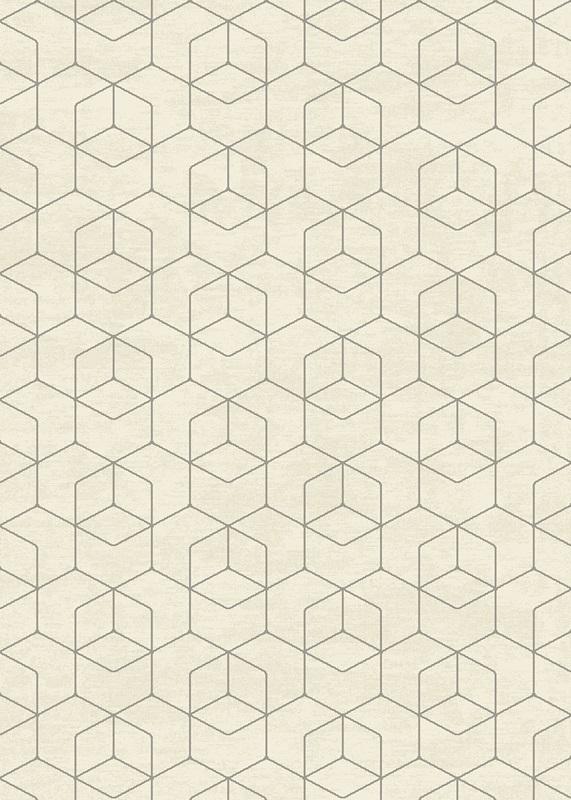 Gent luvtæppe m. geometrisk mønster - 140x200 fra N/A på unoliving.com