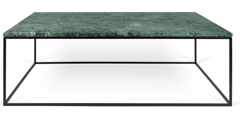 Temahome – Temahome - gleam sofabord - grøn m/sort stel 120 cm på unoliving.com