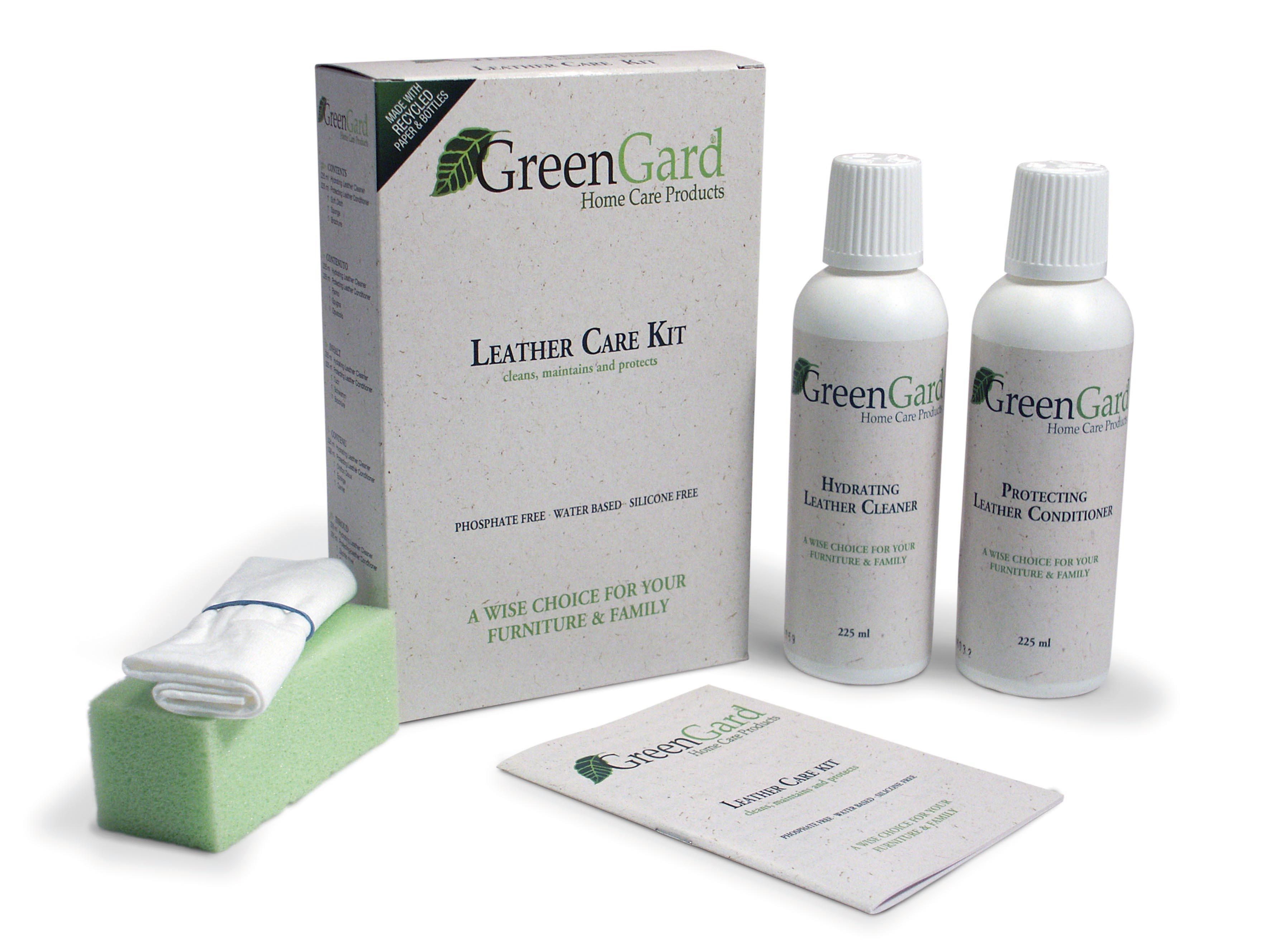 N/A – Greengard lædervedligeholdelses sæt - large fra unoliving.com