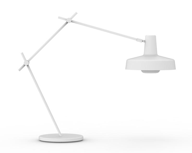 Grupa arigato bordlampe - hvid fra Grupa products fra unoliving.com